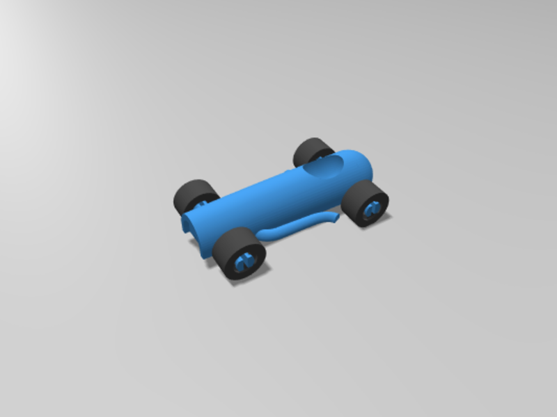 Classic F1 Car : Toybox - 3D Print Your Own Toys