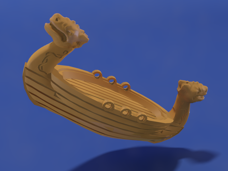 Viking Longboat: Toybox - 3D Print Your Own Toys!