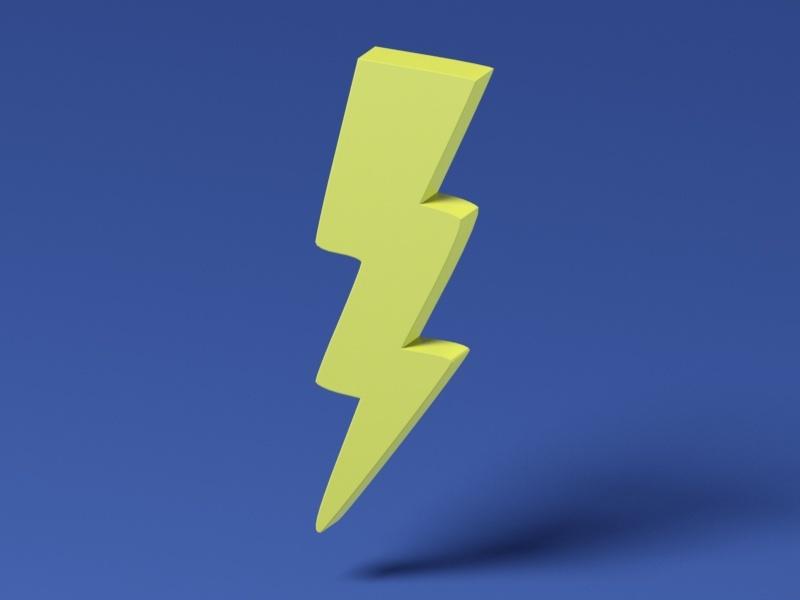 Lightning Bolt : Toybox - 3D Print Your Own Toys